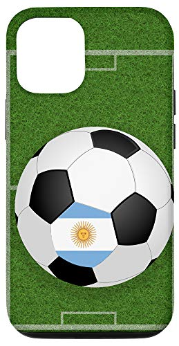 iPhone 12/12 Pro Soccer Ball Player Argentinia National Flag...