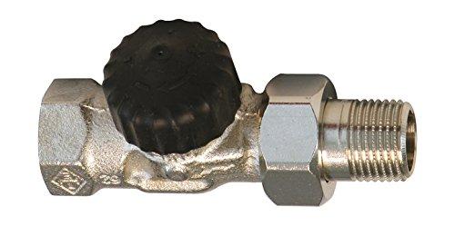 Heimeier 27131 8 Thermostatventil-Unterteil 3/4 Zoll, Durchgangsform-3/4