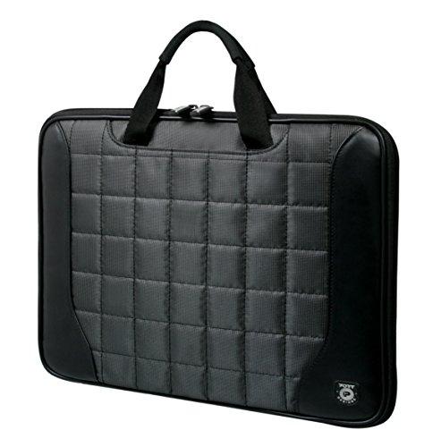 Port Berlin II Notebook Case - Funda para Ordenador portátil de 33,8 cm (13,3 Pulgadas) hasta 35,6 cm (14 Pulgadas) Negro