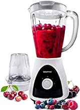 Geepas 400 Watt 2 in 1 Countertop Blender - GSB5485