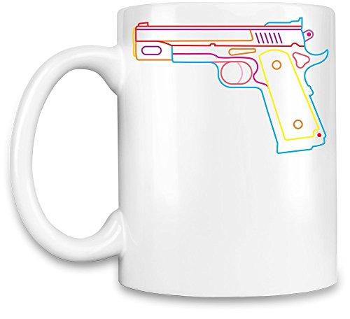 Neon gun Tasse de café