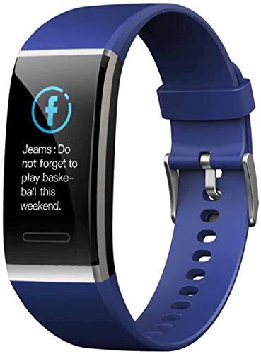 Gymqian Pantalla Color Ajustes de la Banda, Ritmo Cardíaco Y la Presión Arterial Monitoreo de la Pulsera de Reloj de Bluetooth Actividad Inteligente, una Variedad de Marcados, Moda
