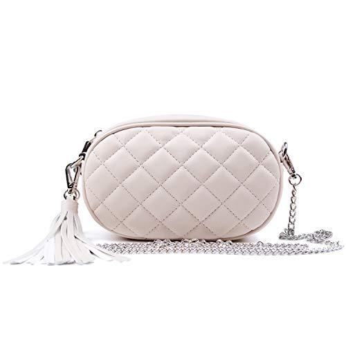 EVEOUT Bolso de la correa de la cintura del cuero de la PU de las mujeres Paquete elegante Bolsa del dinero del teléfono celular
