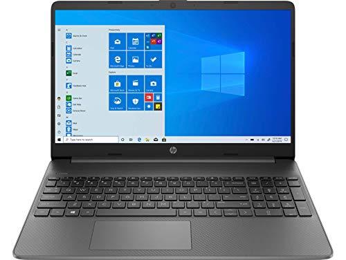HP - PC 15s-fq1033nl Notebook, Intel Core i5-1035G1, RAM 8 GB, SSD 256 GB, Grafica Intel UHD, Windows 10 Home, Schermo 15.6  FHD SVA Antiriflesso, Lettore Micro SD, HDMI, USB-C, USB, Webcam, Grigio