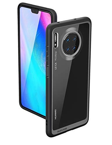 SupCase Huawei Mate 30 Hülle Slim Case Premium Handyhülle Transparent Schutzhülle Dünn Backcover [Unicorn Beetle Style] 6.62 Zoll 2019 Ausgabe (Schwarz)