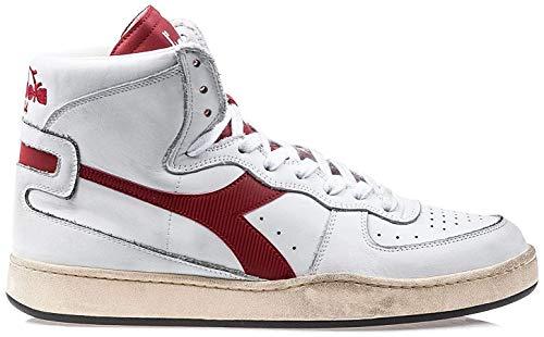 Diadora Heritage, Uomo, Mi Basket Used, Pelle, Sneakers, Marrone, 43 EU