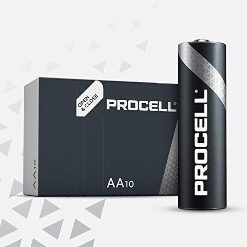 Duracell Pack de 100 Batterien/Akkus AA / LR6 Industrial/procell 1,5 Volt