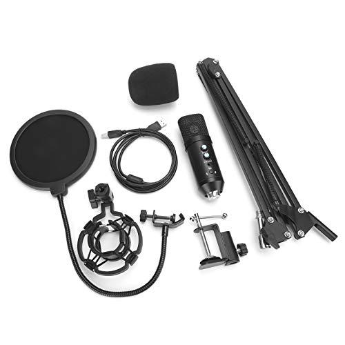 FOLOSAFENAR Conjunto de Equipos Mic Conjunto de micrófonos Red de prevención de reventones, para el hogar, para Hablar, para Fiestas