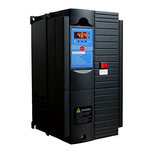 Controlador de Carga Híbrido de Viento y Energía Solar de 1000 W 48 V con Carga de Bomba - para Cargar Baterías con Paneles solares y turbinas de Viento/generadores Combinados