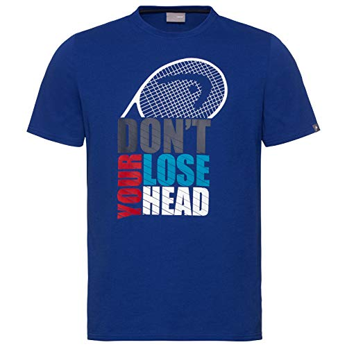 HEAD Jungen Return T-Shirt, royal, Large