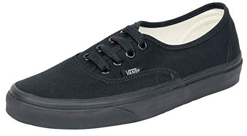 Vans VN000EE3BKA Zapatillas de Tenis Unisex, Color Negro, 23.5