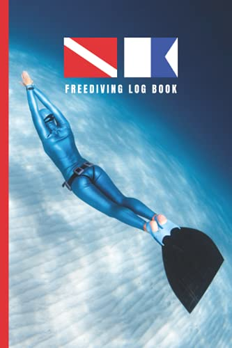 FREEDIVING LOG BOOK: Up to 100 dives   Creative gift for freedivers.