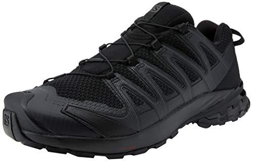 Salomon XA Pro 3D V8 Men's Trail Running / Hiking Shoe, Black/Black/Black, 10.5 EE - Wide