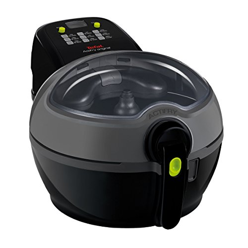 An image of the Tefal ActiFry, Air Fryer, Original, (4 Portions), Black, 1 Kg Capacity