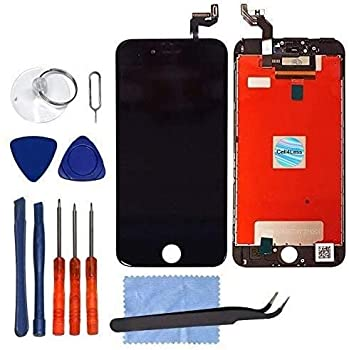 """CELL4LESS LCD Touch Screen and Digitizer Assembly for The iPhone 6S 4.7 inch - NOT for The 5.5""""  for iPhone 6S Black"""