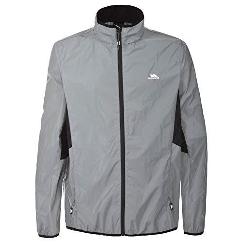 Trespass Men Waterproof Active Jacket, Grey, Large