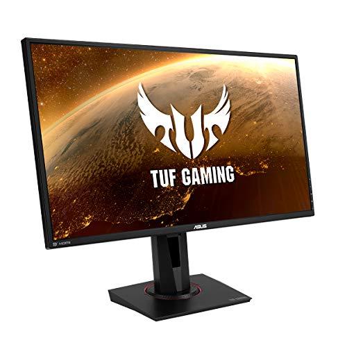 ASUS TUF Gaming VG27AQ 68,58 cm (27 Zoll) Monitor (WQHD, FreeSync, G-Sync Compatible, HDMI, DisplayPort, 1ms Reaktionszeit, 155Hz, HDR10) schwarz