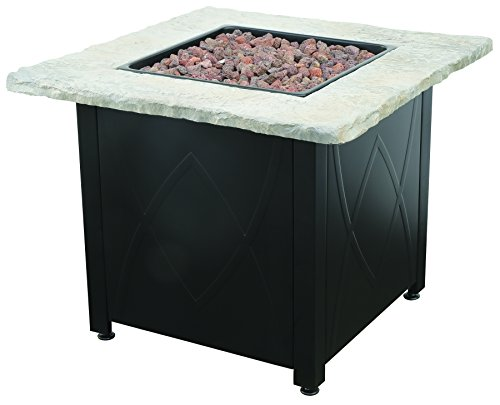 Endless Summer GAD1445DH LP Gas Outdoor Fire Table, Brown