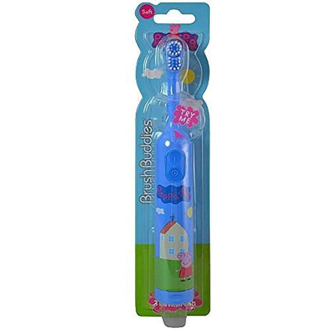 アレルギー性予見する放つPeppa Pig Electric Toothbrush [並行輸入品]