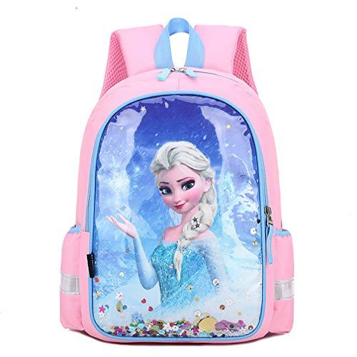 Schulrucksack Mädchen Rucksack Anna ELSA Schul Prinzessin Mädchen Schule Tasche