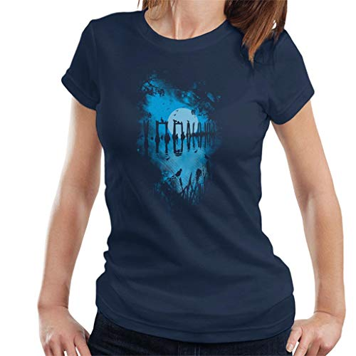 Cloud City 7 Reflectie Moonlit Lake vrouwen T-Shirt