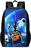 BAGGNICE Rucksäcke Daypacks Taschen, Wall.E 17 Inch School Bag Backpack College Bag Laptop Backpack Large Capacity Backpack (Black)