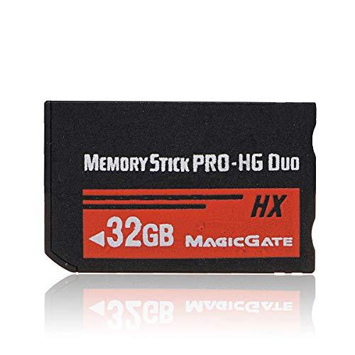 psp メモリースティック Vaorwne 32GBメモリースティックMS Pro Duo HXフラッシュカード PSP Cybehoカメラに適合します