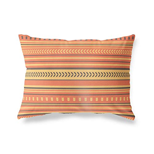 Bonamaison Decorative Cushion Cover Random Pattern, Throw Pillow Covers, Home Decorative Pillowcases for Livingroom, Sofa, Bedroom, Size:35x50 Cm - Designed and Manufactured in Turkey