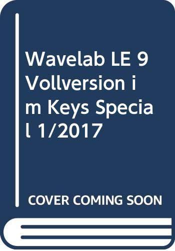Wavelab LE 9 Vollversion im Keys Special 1/2017