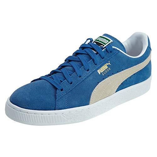 Puma Suede Classic+, Sneaker Unisex – Adulto, Olympian Blue White, 35.5 EU