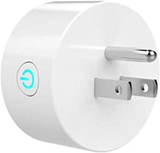 Hecaba Smart Wi-Fi Plug for Smart Home Remote Control your Devices from Anywhere No Hub Required Compatible with Alexa and Google Assistant