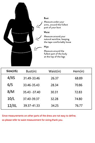 Eliacher Women's Deep V Neck Adjustable Spaghetti Straps Long Cami Summer Dress Sleeveless Sexy Backless Party Dresses with Pocket (XL, Wine)
