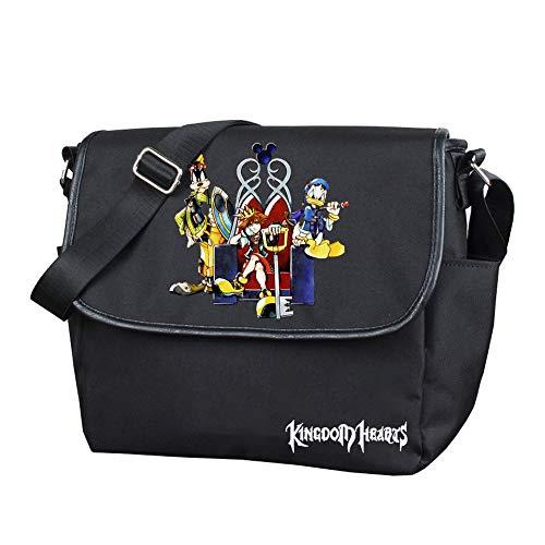 Kingdom Hearts - Mochilas escolares de senderismo, para hombre y mujer, moda de día, estilo salvaje, deportivas, unisex
