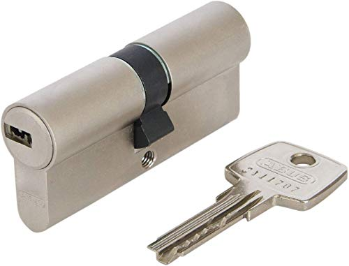 ABUS Profil-Zylinder D6XNP 30/35 mit Codekarte und 5 Schlüsseln, 48298