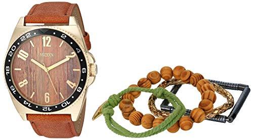 Steve Madden Reloj de moda (Modelo: SMMS025G)