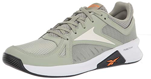 Reebok Advanced Trainer Cross - Zapatillas deportivas para hombre, (Gris místico/Tiza/Naranja Alto Ghvis), 43.5 EU