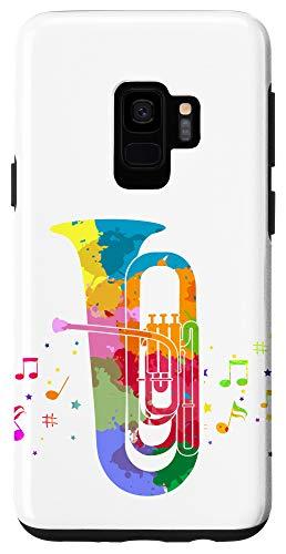 Galaxy S9 Marching Band Retro Tuba Case