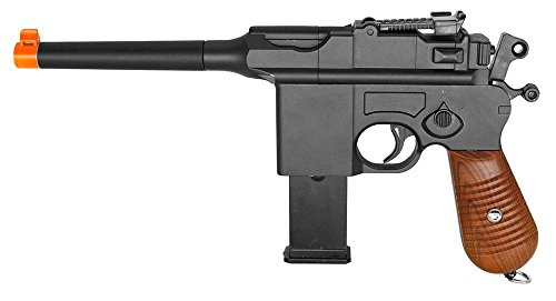 WW2 Mauser Broomhandle c96 German Airsoft Spring Hand Gun Pistol