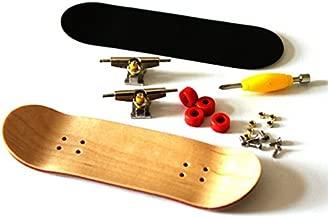 RemeeHi Professional Maple Wooden Fingerboard Skateboards Metal Nuts Trucks Basic Bearing Red Wheel