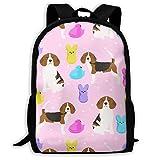 Homebe Beagle - Mochila de Viaje para Perro, para Adultos, para Uso en Exteriores, para Ordenador portátil, Unisex, 28 x 43 x 16 cm