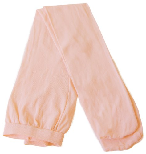 Children's Dance Tights by Danshuz 100% Nylon Full Footed (Theatrical Pink 8-10)