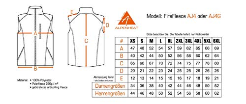 Alpenheat Fire-Fleece beheizte Weste - 3