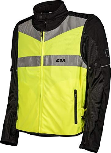 GIVI Gilet Fluo Trekker Vest Alta Visibilita VEST02 Moto Scooter (S/M)