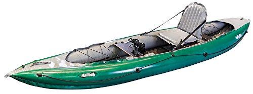 Gumotex Halibut 1 Personen aufblasbares Angelkajak Schlauchboot Angel Boot