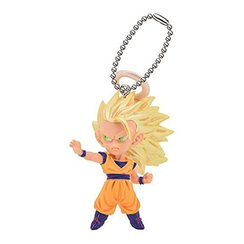 Dragon Ball Cho Figure Swing Keychain~UDM The Best 12~S.S 3 Son Goku