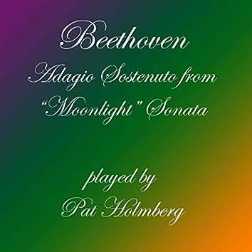 """Adagio Sostenuto from """"Moonlight"""" Sonata, Op. 27 #2"""