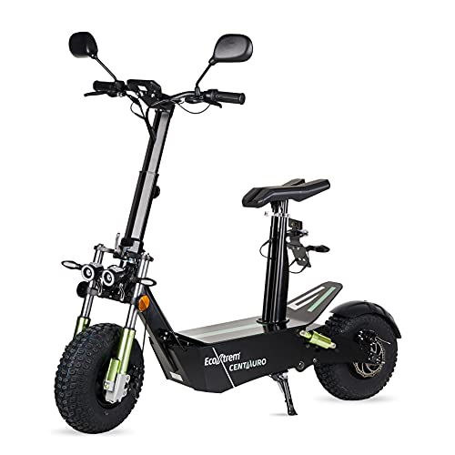 ECOXTREM Centauro - Patinete eléctrico con sillín, Motor 3000W Brushless y matriculable. Ideal para desplazamientos urbanos.