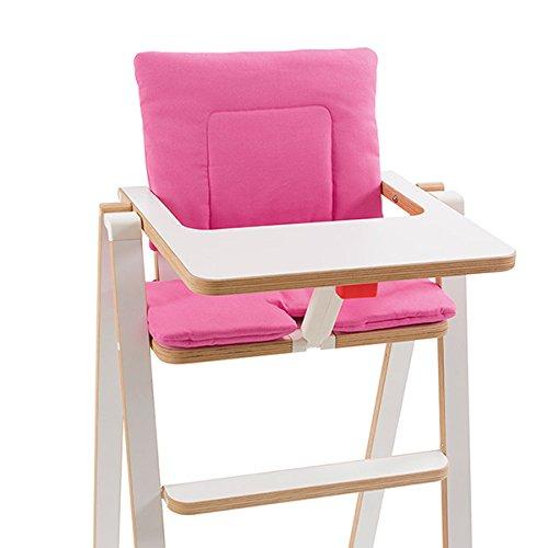 SUPAflat Chaise haute pliante pour enfant Rose Princess