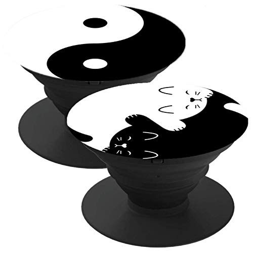 2 Pack Phone Holder Suitable for almost Smartphones and Tablets Yin-Yang