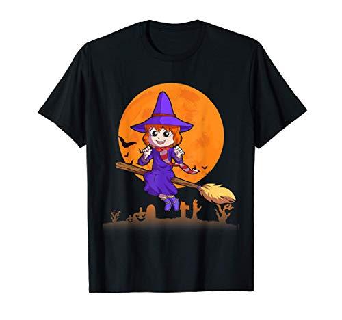 Bruja Disfraces de Halloween para hombres mujeres niños Camiseta